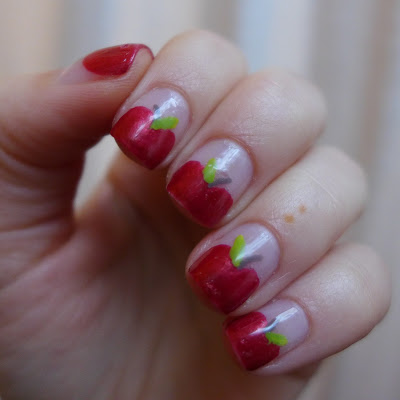 NOTD an apple a day...