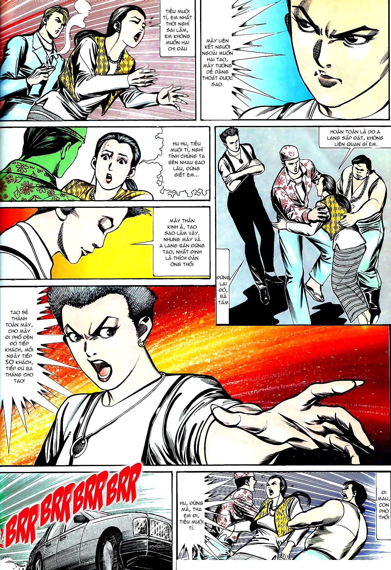 Người Trong Giang Hồ chapter 147: vĩnh biệt kk trang 11