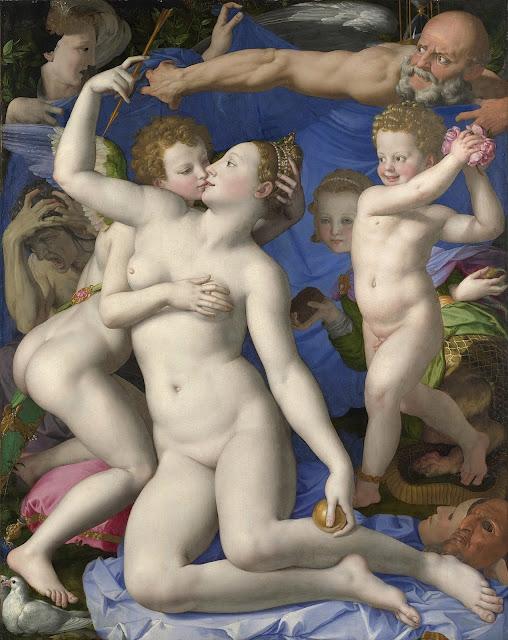 Agnolo Bronzino: Allegoria del trionfo di Venere