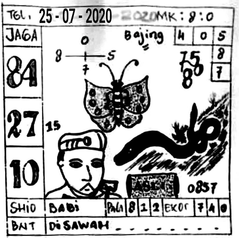 Syair bd sgp 25 juli 2021