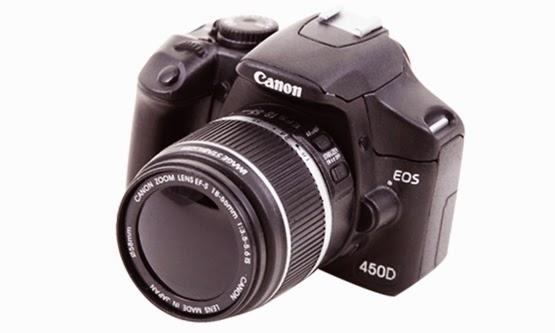 Harga dan Spesifikasi Kamera DSLR Canon EOS 450D Termurah 2015