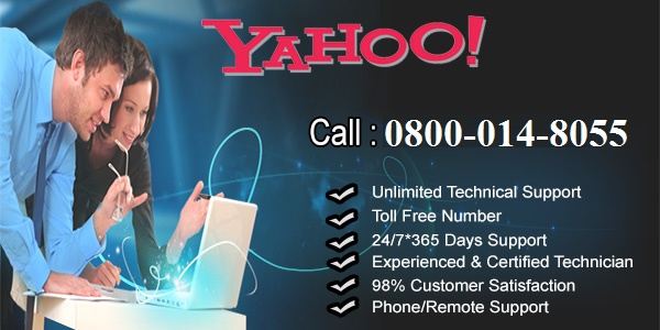yahoo helpline number uk