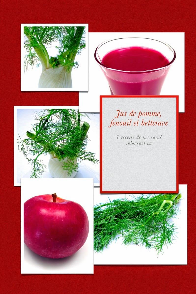 1 recette de jus sant jus de pomme fenouil et betterave. Black Bedroom Furniture Sets. Home Design Ideas