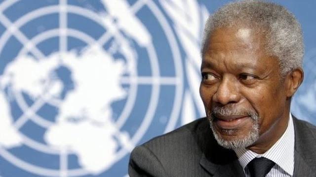 Saga Gist mourns Kofi Annan, commiserates with Ghana, family