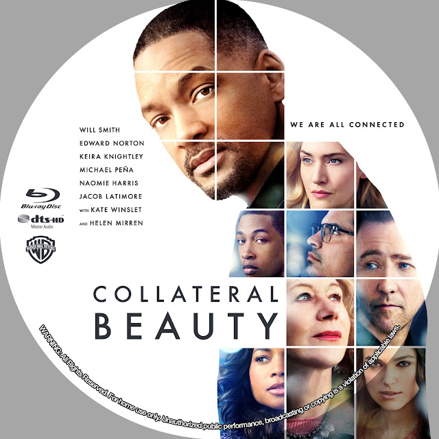 Collateral Beauty Bluray Label