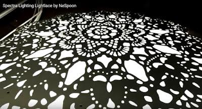 NeSpoon的雕刻蕾絲 video