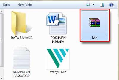 Cara Menyembunyikan File ke Dalam Gambar Tanpa Software