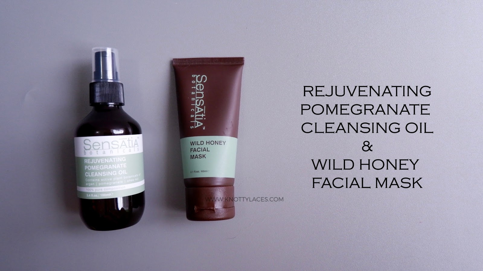 Sensatia Pomegranate Cleansing Oil And New Wild Honey Facial Mask Botanicals Aloe Vera Botanical Gel 100 Ml This Time I Get To Try Their Latest Products Which Are Better Formulated Well The Is Not Entirely
