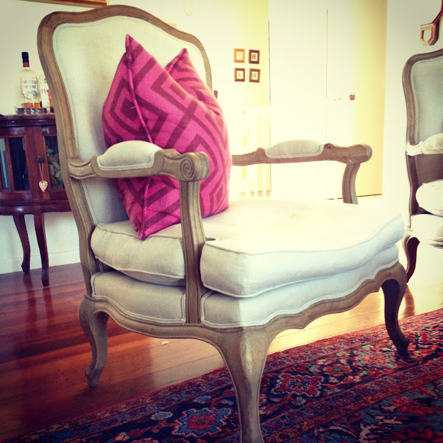 #WordlessWednesday,  home, French chair