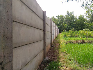 pagar beton k300