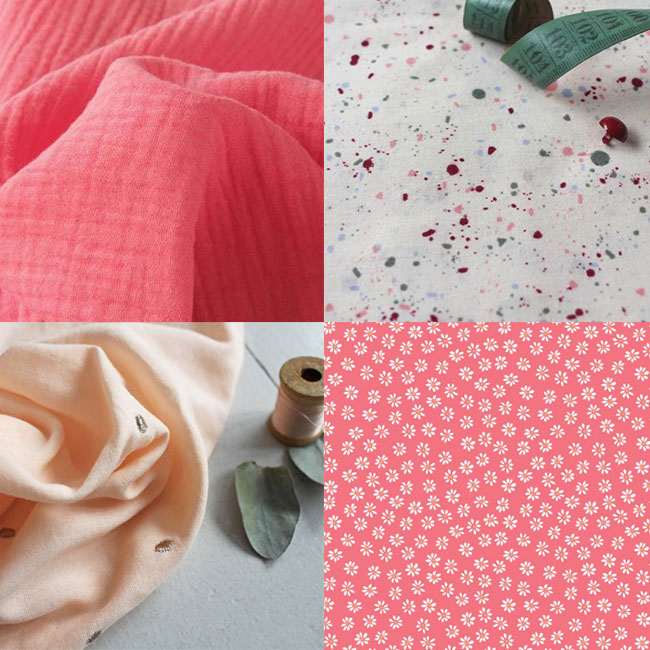 Fabric shopping inspiration for Stevie - beginner friendly sewing pattern by Tilly and the Buttons