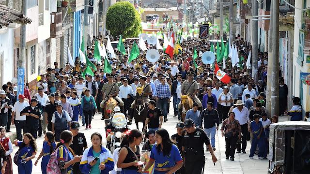 así Inició de la Feria Patronal San Juan Bautista Chota 2016