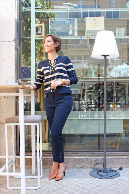 Fitness And Chicness-Sailor Working Girl Michael Kors Look-3