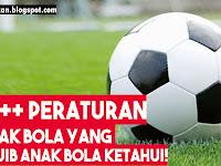20+ Peraturan dalam Sepakbola, Anak Bola Wajib Paham!