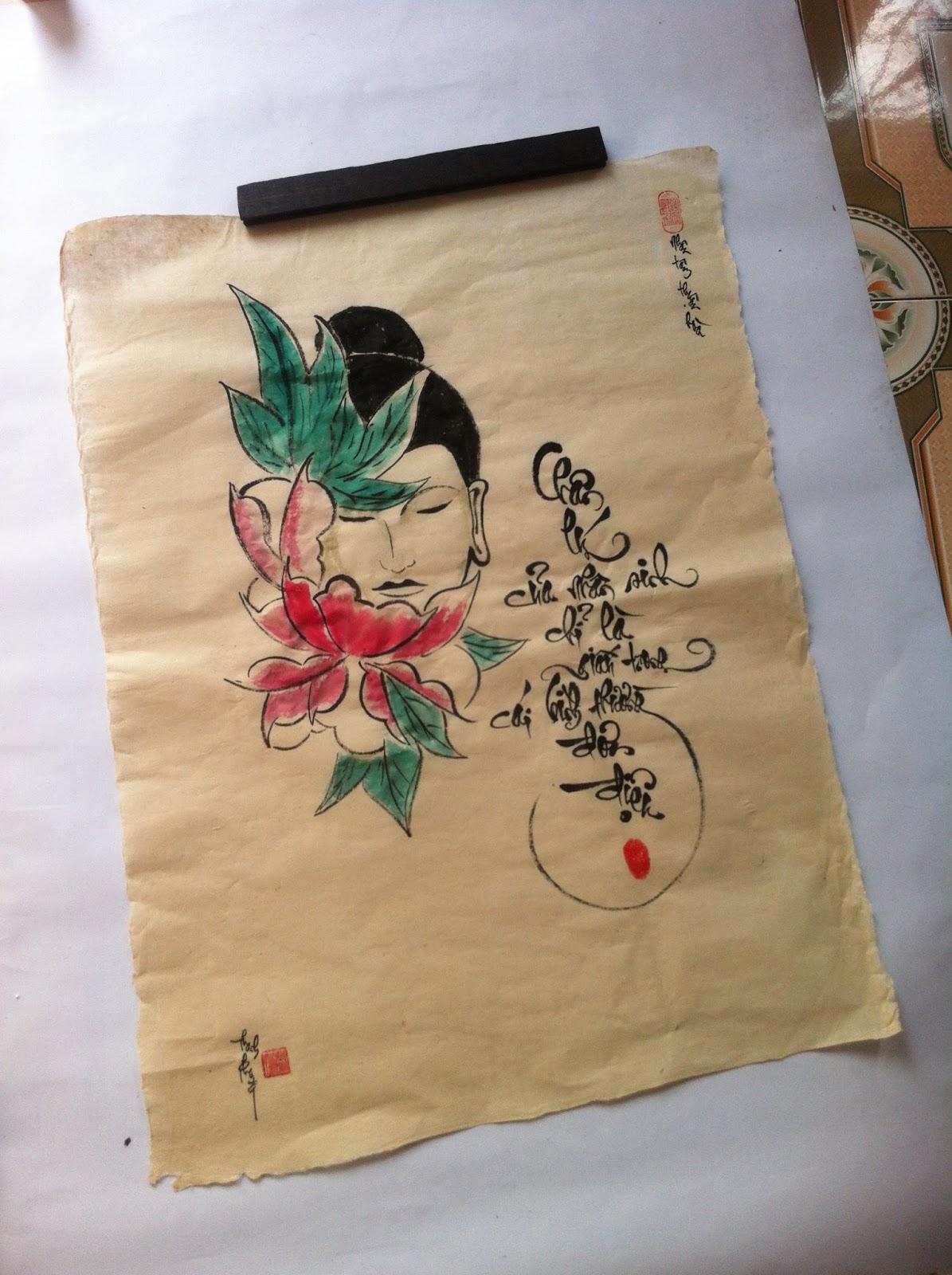 Tổng quan về Nghệ thuật thư pháp Việt