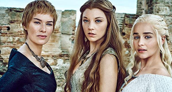 Cersei, Daenerys y Margaery