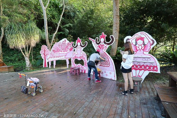 《台中.新社》安妮公主花園|充滿粉紅主題|親子景點|白冷圳紀念公園旁