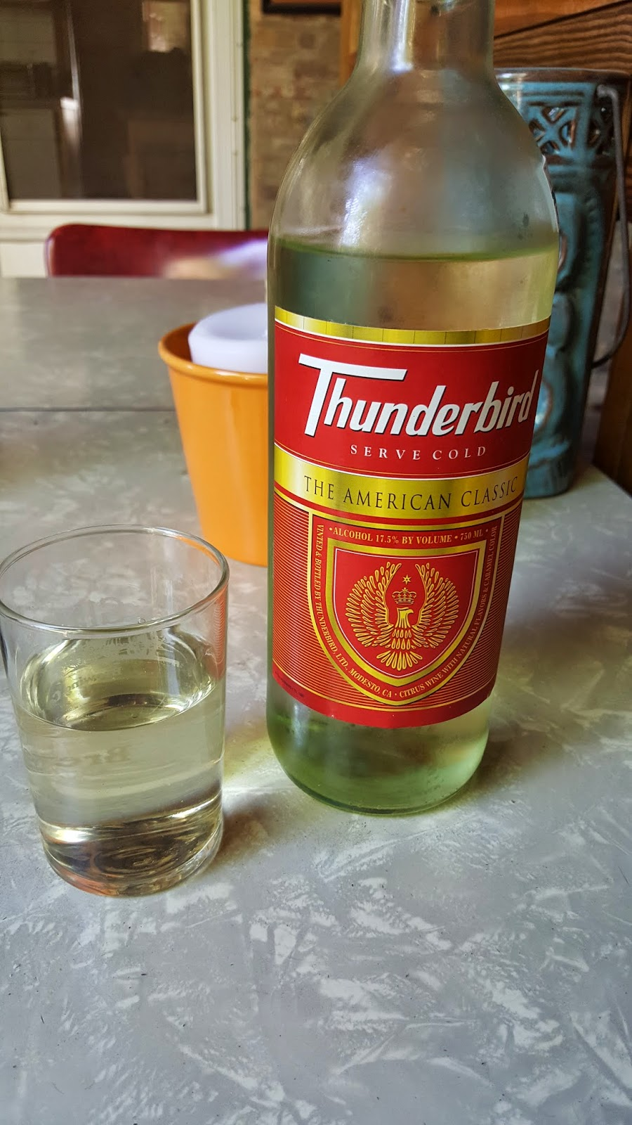 Thunderbird - A fine wine for fine Americans! - Bumming with