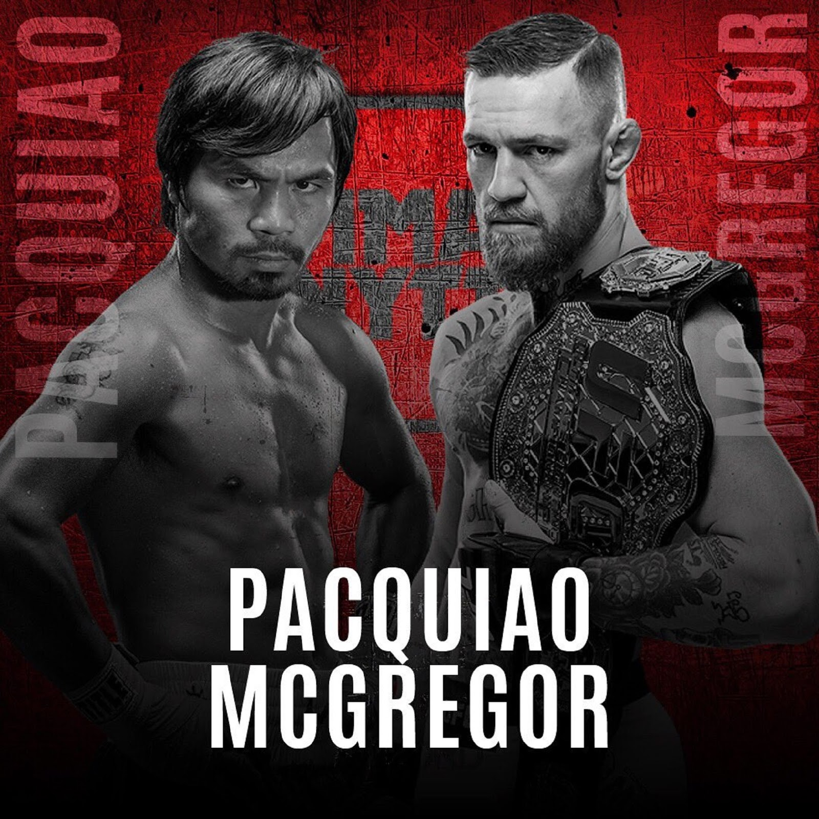 CONOR MCGREGOR VS MANNY PACQUIAO 2