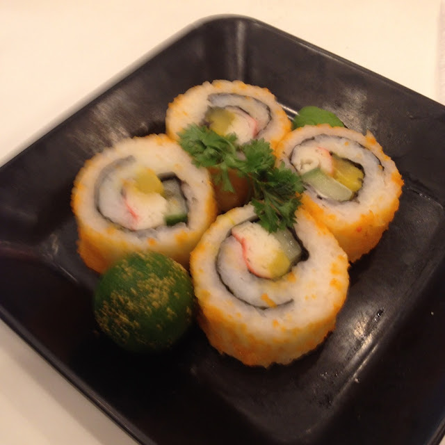 California maki at Yoshinoya