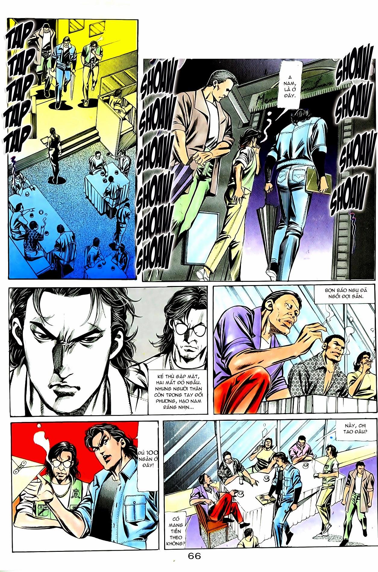 Người Trong Giang Hồ chapter 86: săn báo trang 9