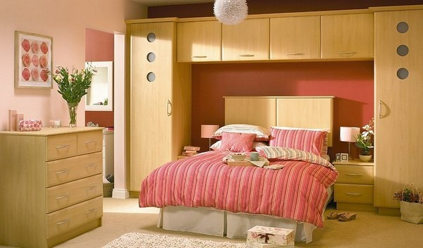 Red Bedroom Design A Cool Decoration