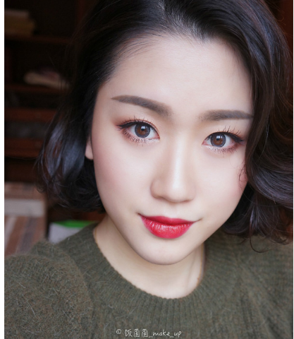 Holiday Gucci Brand Red Lips And Glam Asian Eye Makeup Inspiration