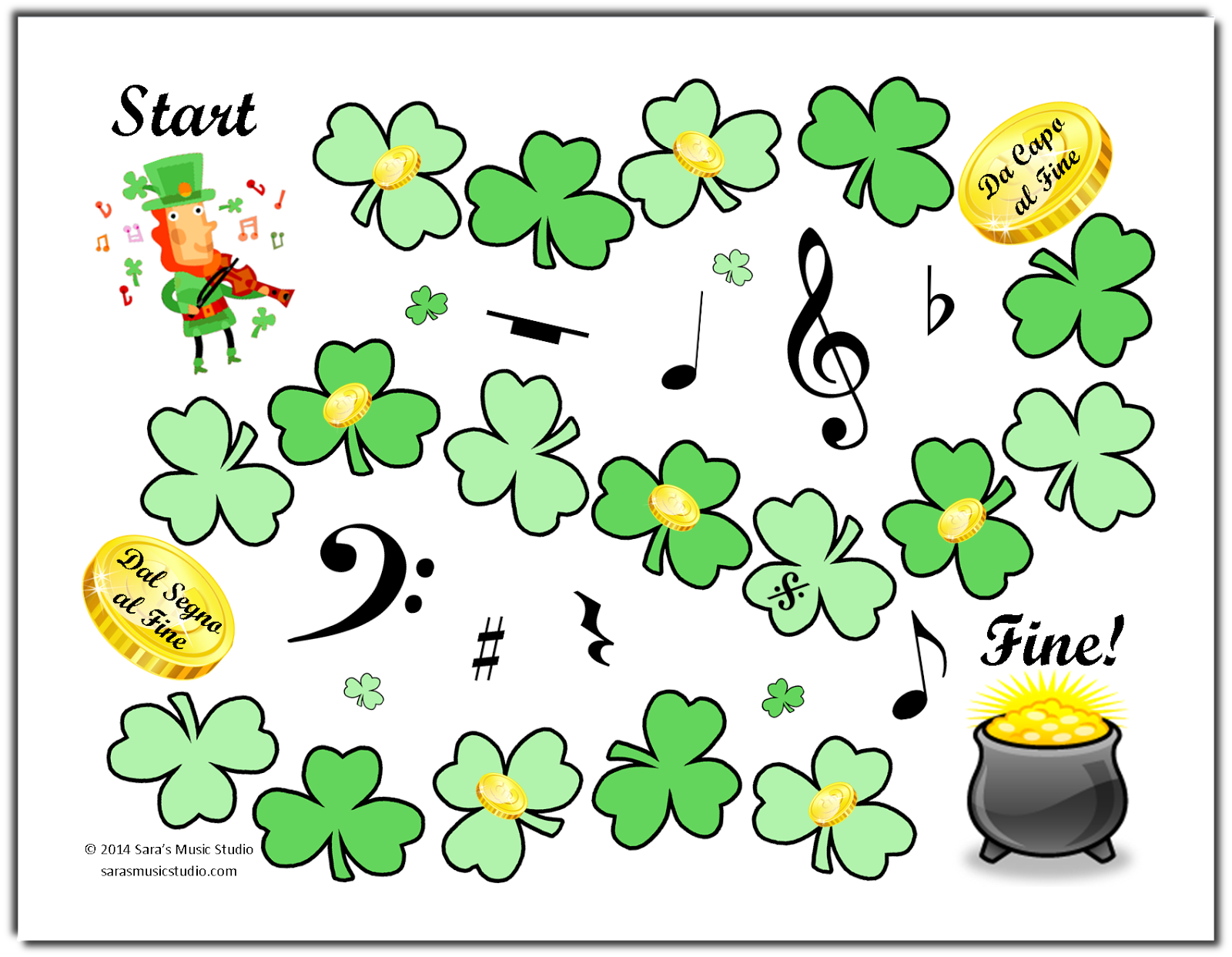 Saint Patrick Day Games Activities For St Paddy S Party