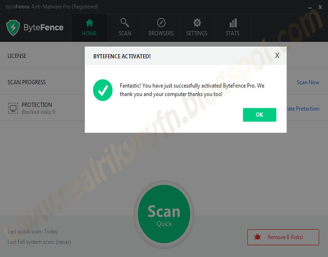 bytefence pro licence key 2019