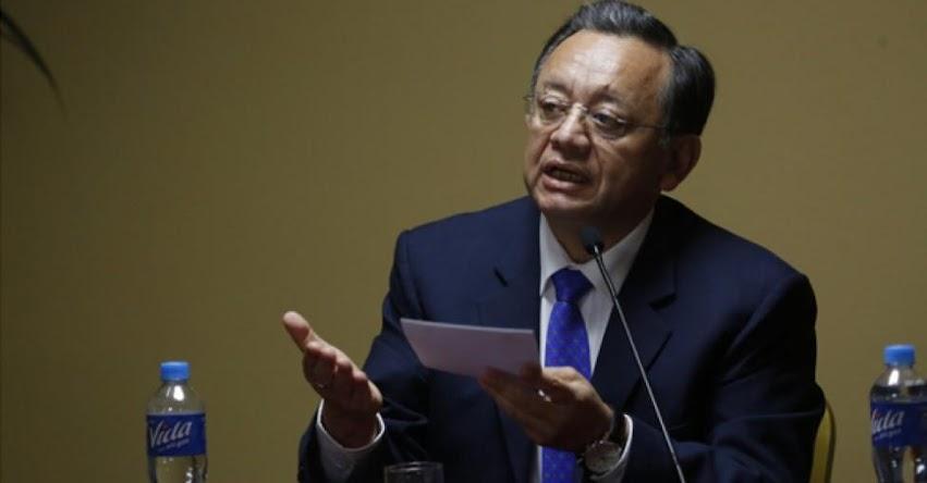 Contralor Edgar Alarcón estaría evaluando renunciar a la Contraloría General de la República