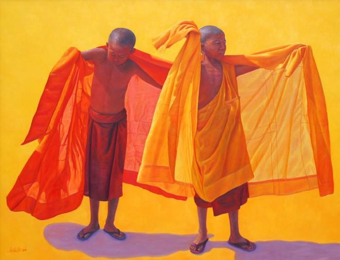 Лица монахов. Aung Kyaw Htet 11