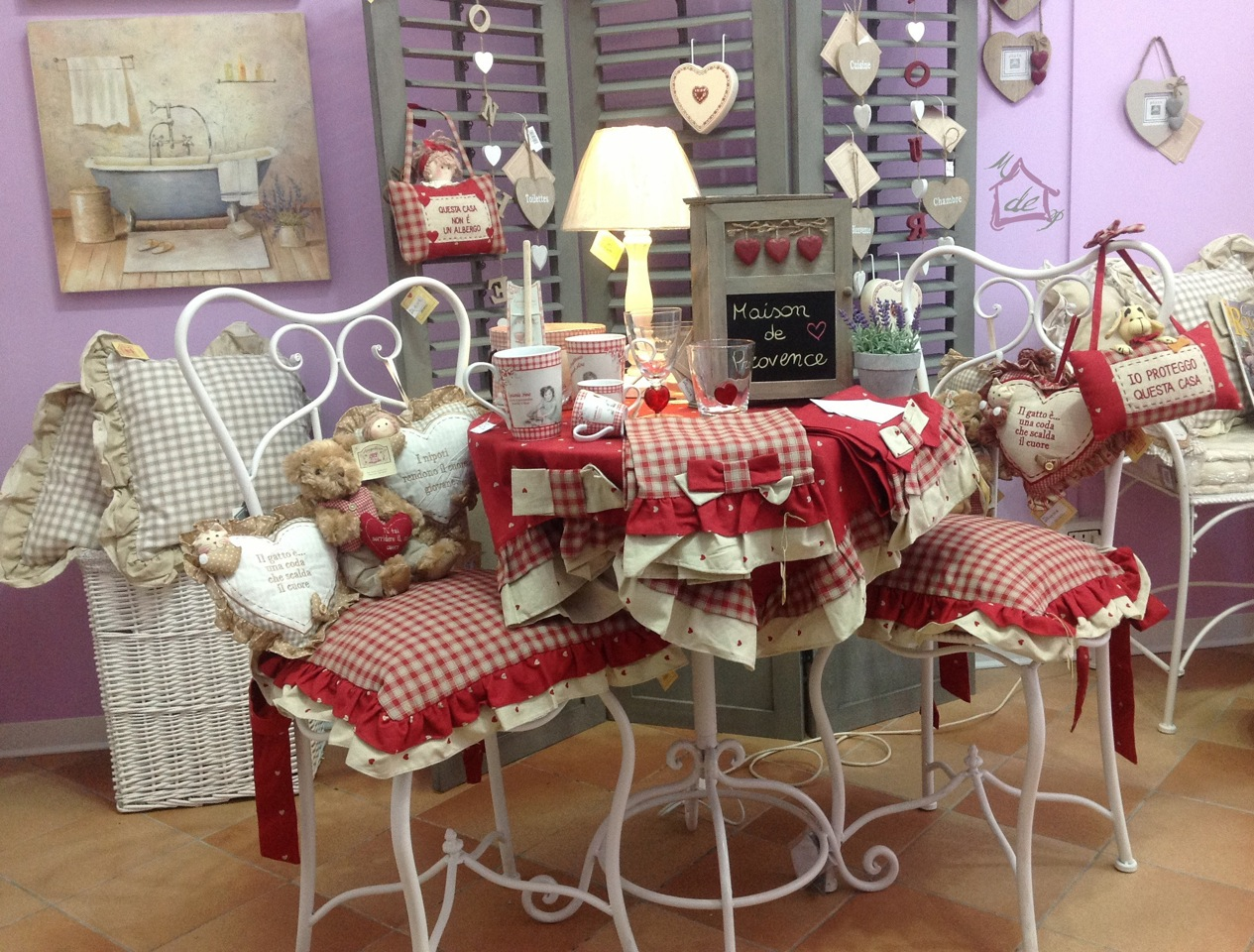 Arredamento provenzale arredamento provenzale torino for Complementi d arredo shabby
