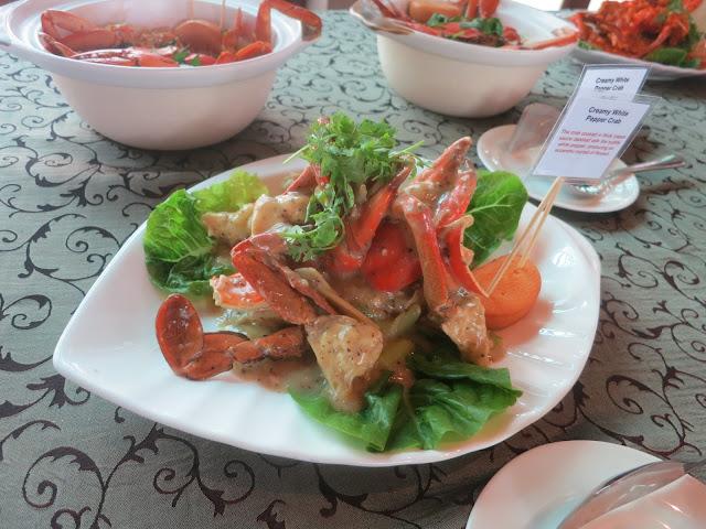 White Pepper and Cream Crab