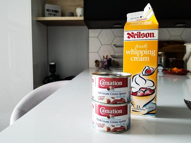 Creme de leite no Canadá