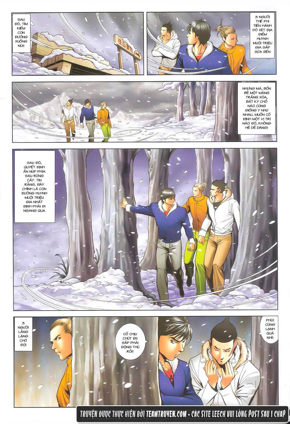 Người Trong Giang Hồ chapter 1612: thần nhân tương ngộ trang 23