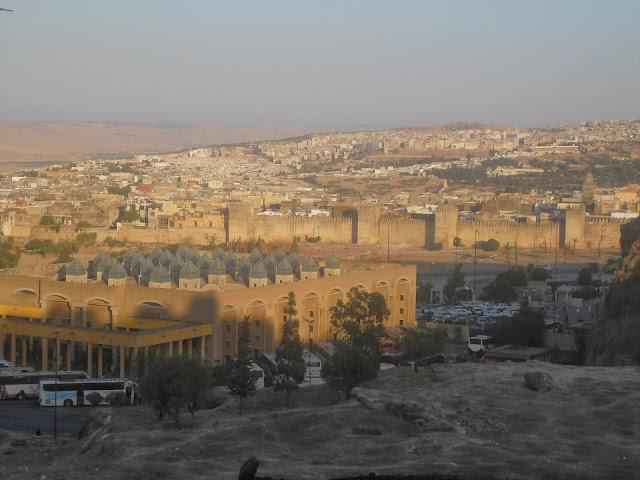 muralla desde mirador Fez