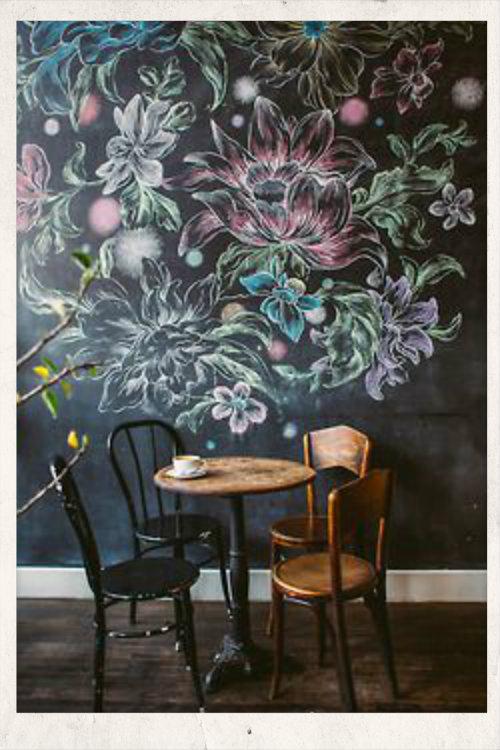 διακοσμηση τοιχου με μαυροπινακα,βαψιμο τοιχοι μαυροπινακες