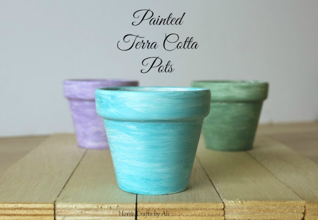 paint terra cotta pots for home decor