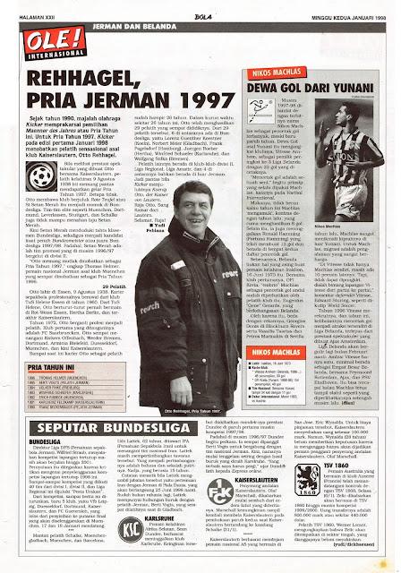 REHHAGEL, PRIA JERMAN 1997
