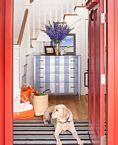 coastal entryway decorating ideas
