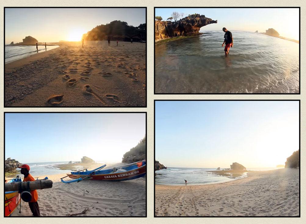Pantai Ngandong Yogyakarta