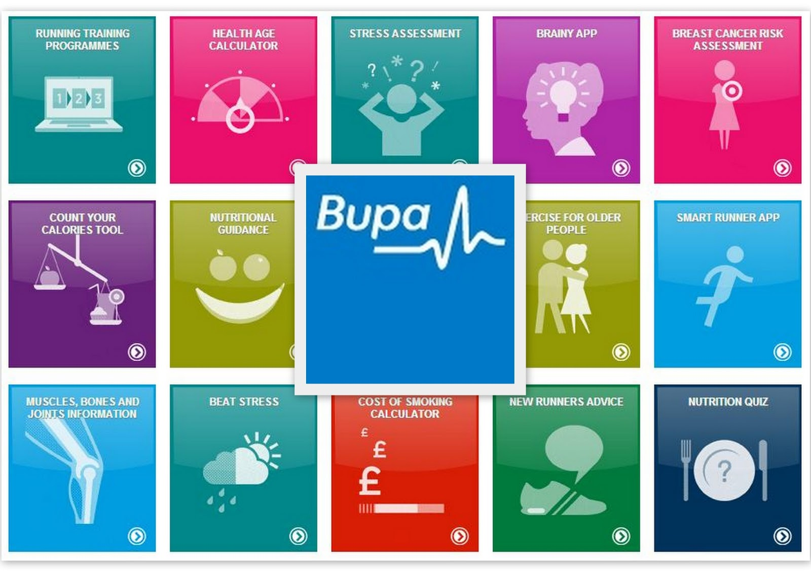 Bupa Helping You Find Healthy | flutter and sparkle