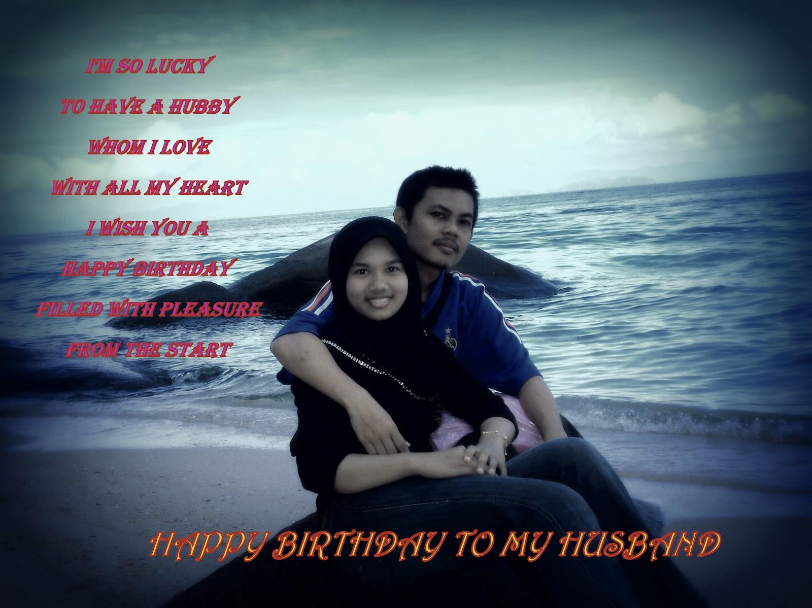 Selamat Hari Lahir Suami