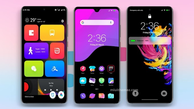 Amoled Color V2 MIUI Theme | An Impressive Dark Theme for Xiaomi Devices