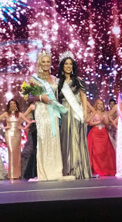 India flag continues to shine at the Mrs Earth Pageant in Las vegas