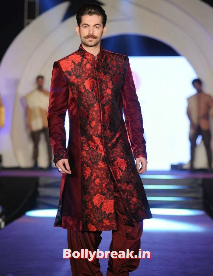 Neil Nitin Mukesh, Rohit Verma's Fashion Show Pics