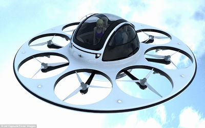 UFO Drone Seats Two