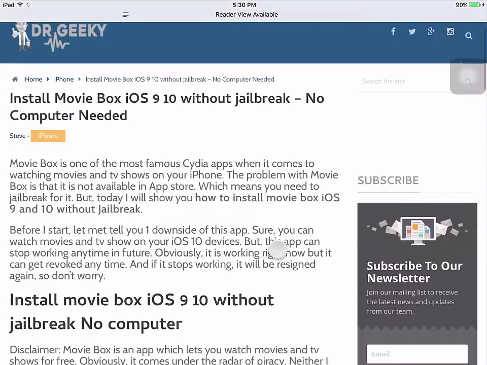 MOVIE BOX for your device