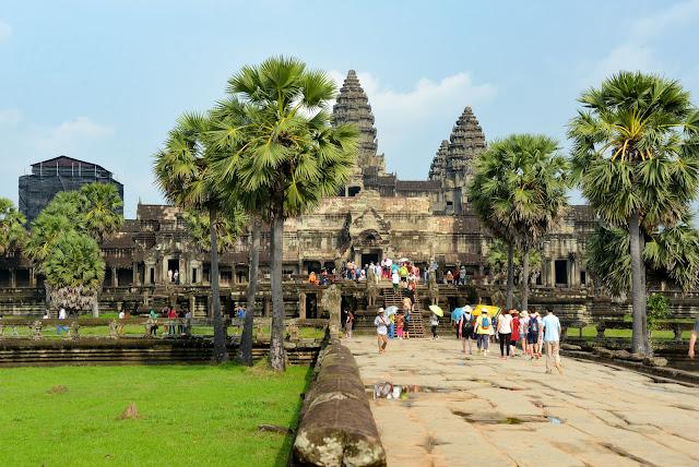 Angkor Wat : Photographie par Xiquinho Silva (cc)