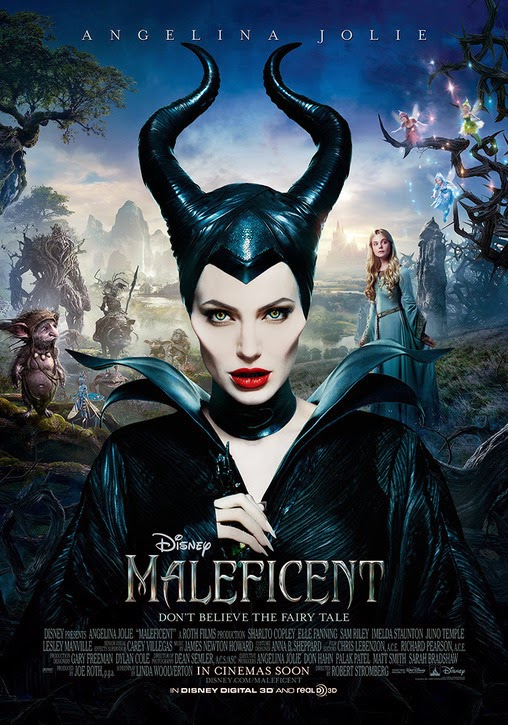 Maleficent - Angelina Jolie Poster | A Constantly Racing Mind